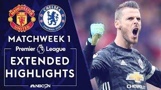 Manchester United v. Chelsea | PREMIER LEAGUE HIGHLIGHTS | 8/11/19 | NBC Sports