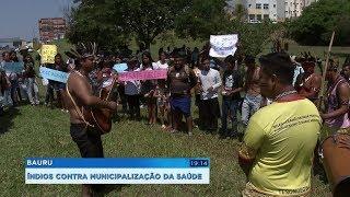 Indígenas fecham rodovia em protesto contra a municipalização da saúde