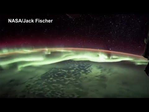 Timelapse: Το Βόρειο Σέλας από το διάστημα