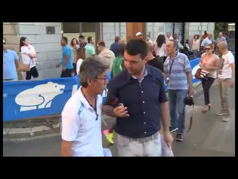 Scalata al Castello, successo della diretta di Arezzo TV. Trionfa l'Africa