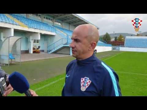 Izbornik Hrvatske U-17 Petar Krpan nakon pobjede nad Armenijom