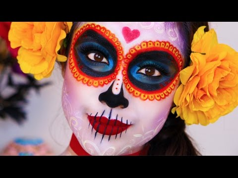 The Book of Life: La Muerte //Makeup Tutorial // Dia De Los Muertos
