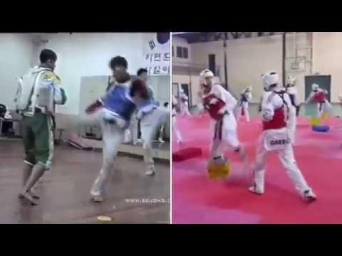 Taekwondo training Old/New