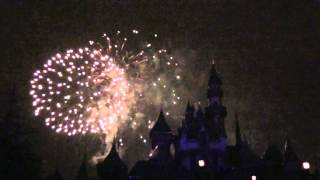 On our first night at Disneyland we watched the fireworks from the view right in front of the castle. A fantastic show! View our full day adventures here: https://youtu.be/31-THFib1RQ