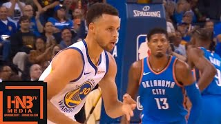 Golden State Warriors vs Oklahoma City Thunder 1st Half Highlights | 10.16.2018, NBA Season