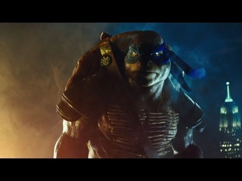 WATCH: COWABUNGA!! Teenage Mutant Ninja Turtles movie trailer! I'm actually totally geeked to see this! (I will always be an 11 year old boy, no matter what age I actually am....)