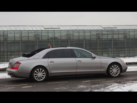 Maybach 62S Landaulet review