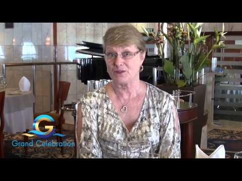 Diana's Testimonial on Grand Celebration Cruise