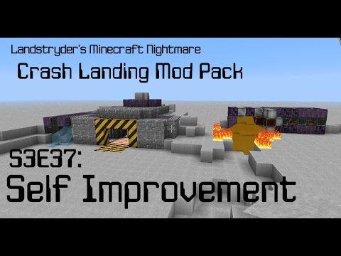 Self Improvement – Crash Landing – Landstryder's Minecraft Nightmare s3e37