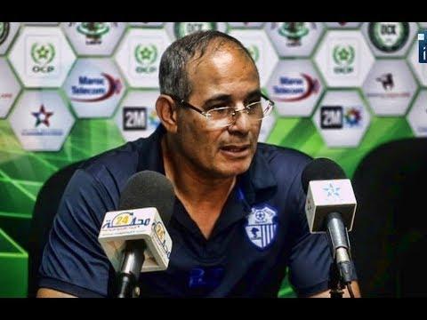 العرب اليوم - شاهد: تعليق بادو الزاكي وأيت جودي بعد مباراة اتحاد طنجة وأولمبيك خريبكة