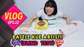Video WTF#52 Battle Kue Oleh-oleh Artis! (Taste test!) Part 1 MP3, 3GP, MP4, WEBM, AVI, FLV Oktober 2017