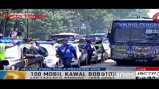 Download Video Bobotoh ke GBK Naik Truk TNI Demi Final Piala Presiden 2015 MP3 3GP MP4