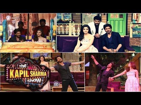 The Kapil Sharma Show | SRK & Alia Bhatt Promote D