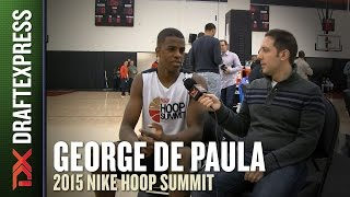 George de Paula - 2015 Hoop Summit - DraftExpress Interview
