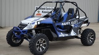 4. 2014 Arctic Cat Wildcat X Viper Blue $18,499   Overview and Review