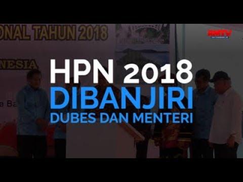 HPN 2018 Dibanjiri Dubes Dan Menteri