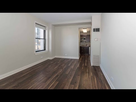 A compact Lincoln Park studio at the landmark Belden-Stratford