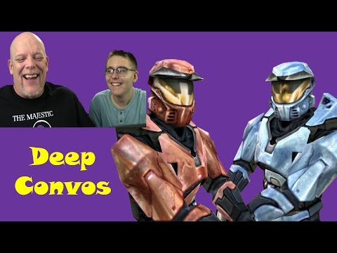 "REACTION TIME | ""Red Vs. Blue Episode 1"" - Deep Conversations"