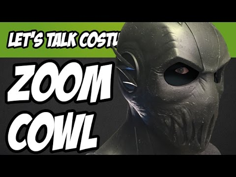 Zoom Cowl from the CW's Flash