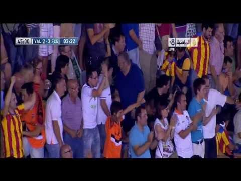 Barcelona Vs Valencia 3 . 2 2013 Goals   Highlights 1 9 2013) HD \u200f (видео)