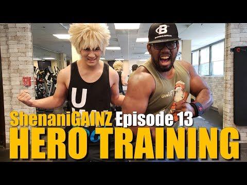 Hunky Bananas ShenaniGAINZ Episode 13 - Cosplay Hero Training