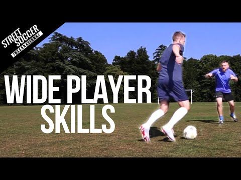 Learn Football skills for Wide Players – Play like Messi, Ronaldo, Neymar Soccer Turorial
