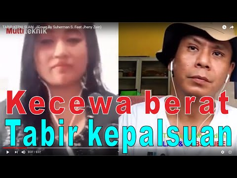 TABIR KEPALSUAN - (Cover By Suherman S. Feat Jheny Zein)