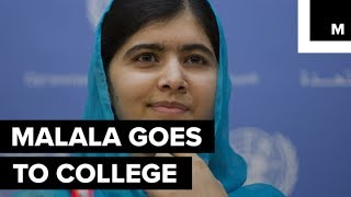 The youngest U.N. Messenger of Peace and Nobel Peace Prize winner, Malala Yousafzai, has just been accepted to study philosophy, politics, and economics at Oxford University.READ MORE: http://mashable.com/FACEBOOK: https://www.facebook.com/mashable/TWITTER: https://twitter.com/mashableINSTAGRAM: https://www.instagram.com/mashable/
