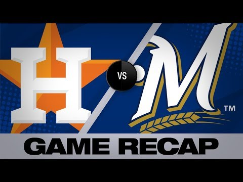 Video: Springer's 10th inning HR downs Brewers, 3-2 | Astros-Brewers Game Highlights 9/2/19