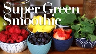 *BONUS* Green Smoothie Recipe | Collab with Rebecca Zamolo by The Domestic Geek