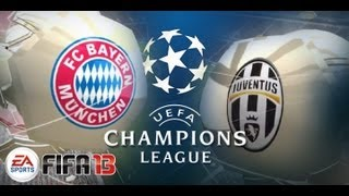 FC Bayern München : Juventus Turin - Tore, Highlights - 2. April 2013 [HD][FIFA 13 Prognose]