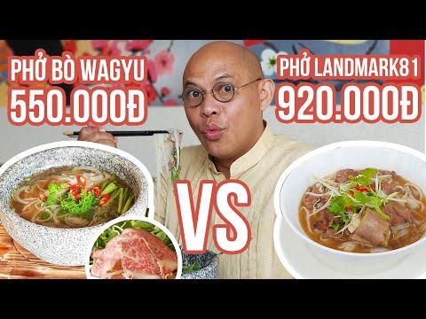 """Food For Good #442: Phở """"chọc trời"""" Landmark 81 cũng phải """"bái"""" tô phở Kobe Legend 998k là sư phụ - Thời lượng: 38:17."""