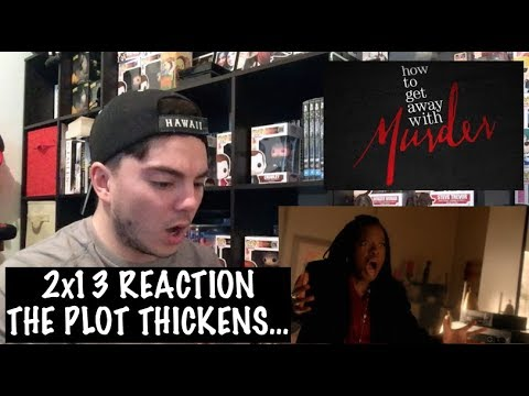 HOW TO GET AWAY WITH MURDER - 2x13 'SOMETHING BAD HAPPENED' REACTION