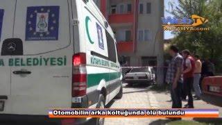 Kütahya'da Otomobilin arka koltuğunda ceset bulundu