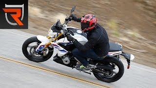 3. 2017 BMW G 310 R Motorcycle First Test Review Video | Riders Domain