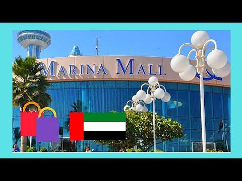 ABU DHABI: The beautiful MARINA SHOPPING MALL, United Arab Emirates (UAE)