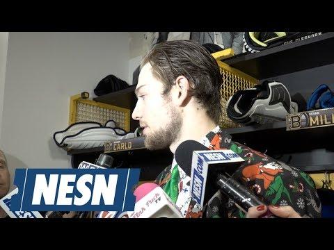Video: Brandon Carlo on the boost Bruins confidence