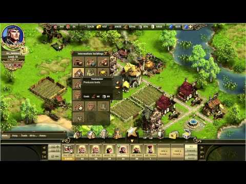 The Settlers Online: Castle Empire — Gameplay Trailer