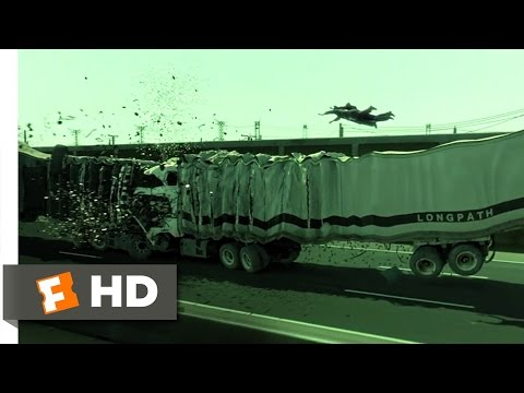The Matrix Reloaded (5/6) Movie CLIP - Truck Stop (2003) HD