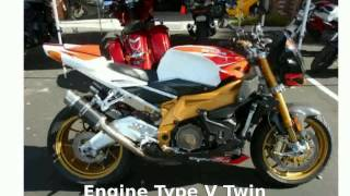 10. 2009 Aprilia Tuono 1000 R Factory Review & Walkaround - techracers