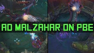 Malzahar cấp 13 một mình solo Baron cực bá đạo