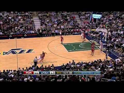 Portland Trail Blazers 96 – Utah Jazz 91