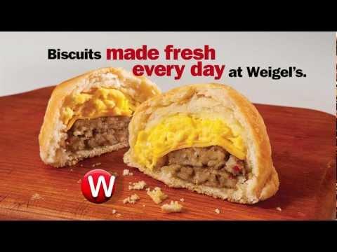 Weigel's Breakfast Biscuits