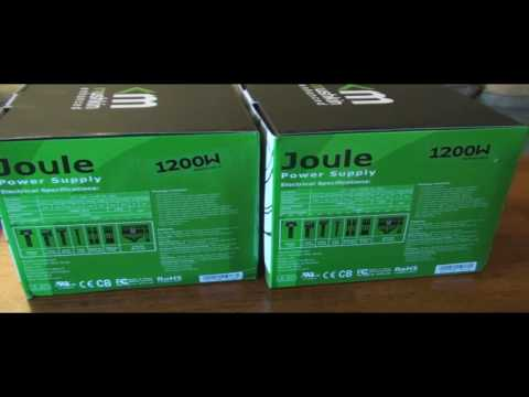 mushkin psu - Here is part 2 of an unboxing of the brand new Mushkin Joule 1200W Modular Power Supply. It goes over the LED operation and I give a quick sneak peak of my u...