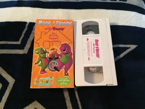 Opening & Closing To Movin' & Groovin' With Barney (Blockbuster Exclusive) 2000 VHS