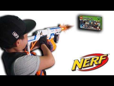 NTN - Thử Thách Bắn Súng Nhận Quà ( Baby Shooting NERF Receiving Gifts ) - Thời lượng: 11 phút.