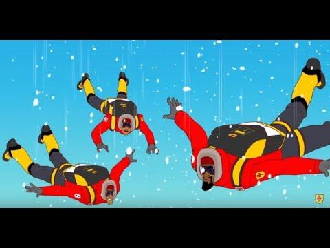 Supa Strikas - Season 2 Episode 20 - Bad Altitude | Kids Cartoon