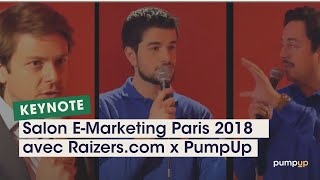 Video : Retour sur la keynote PumpUp Adwords au salon E-Marketing Paris 2018