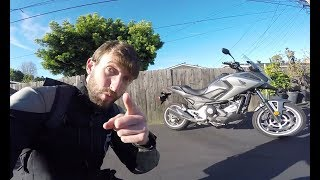 5. MC Commute - 2017 Honda NC700X DCT