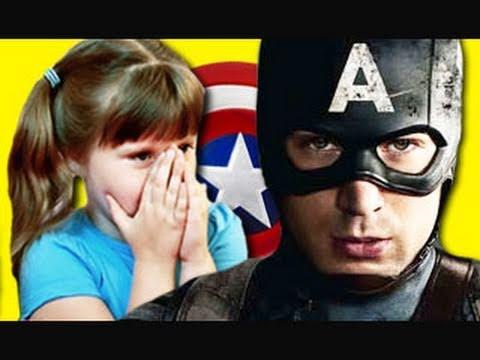 Děti reagují na Kapitána Ameriku